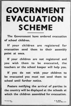 the evacuation of children from britains major Answer there was a desire to protect the future generations by moving the children out of the areas likely to be attacked the luftwaffe had an effective bombing campaign against london and the major industrial cities in britain.