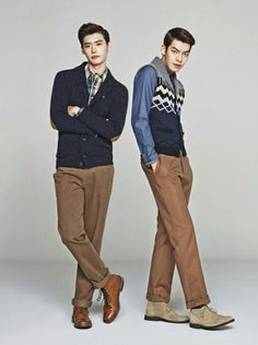Lee Jong Suk & Kim Woo Bin