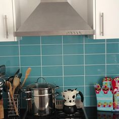 Kitchen Blue Metro Tiles Google Search Kitchen Pinterest