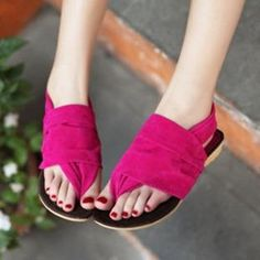 Casual Flat Thong Sandals