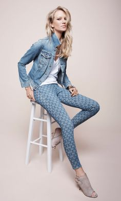 Spring 2013 Collection @AG Jeans.com #prints #scallop