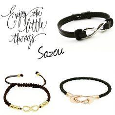 Enjoy the little things!! www.sazou.nl  Jewels, Watches & More  #armbanden #infinity #sieraden #sazou