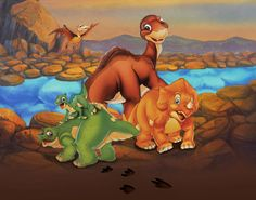 The Land Before Time : Top 10 Non-Disney Cartoon Movies