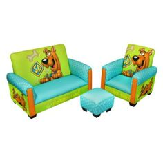 Warner Brothers Scooby Doo Deluxe Toddler Living Room Set - Sofas #Kids #Kids #Children #Child #Furniture #Set #Christmas #Holiday #Holidays #Wish #Wishlist #Gift #Gifts #Present #Presents #Ideas #Idea #Sets #Sofas #Couches