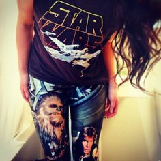 Star Wars Leggings Black Milk
