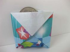 Origami Coin Purse http://www.origami-instructions.com/origami-coin-purse.html