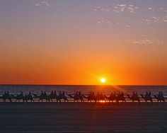 Enjoy a spectacular sunset on camelback  - Cable Beach, WA #Broome
