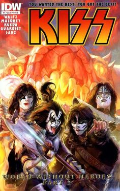 KISS (IDW, 2012) #4B  - World Without Heroes