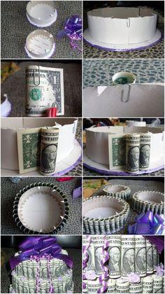 Wedding Gift Creative Packing Money: 71 DIY Wedding Gifts Ideas - #creative #gifts #ideas #money #packing #Wedding - #graduation