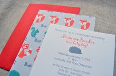 New Baby Shower Invitations