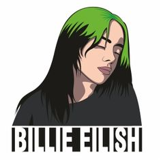 Billie Eilish, Gothic Wallpaper, Scary Art, Pony Drawing, American Rappers, Diy Canvas Art, Aesthetic Stickers, Indie Kids, Anime Art Girl