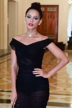 Taís Araújo Lindo vestido preto