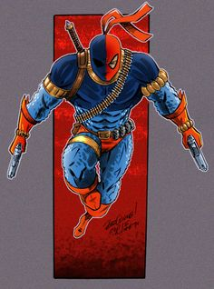 Going classic comic book Deathstroke