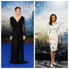 #PremiereStyle de #AngelinaJolie en la premiere de #Maleficent en Londres, Ambos looks de #AtelierVersace y Zapatos de #ChristianLouboutin POST... http://angelguardiandelamoda.wordpress.com/2014/05/10/premiere-style-de-angelina-jolie/ #AGDLM #fashion #moda @Cameron Versace