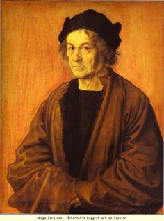 Albrecht Durer. Portrait of Durer's Father at 70. Olga's Gallery.