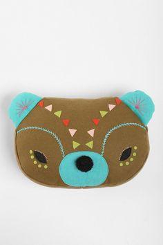 Beci Orpin Bear Pillow #urbanoutfitters
