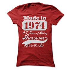 MADE IN 1974 - ST5 #Tshirt #clothing