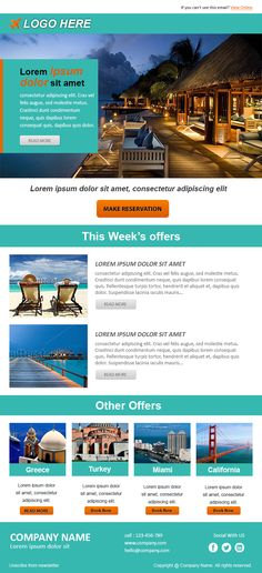 Email Newsletter Examples Business Email Templates Sample   Pinteres