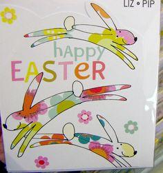 Easter card from printandpattern website