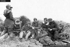 Soldiers of 27. Freiwilligen Grenadier Division Langemarck