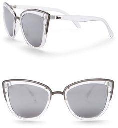 f91977bef2 Quay Women s My Girl 55mm Cat Eye Sunglasses Quay Australia