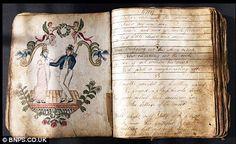 Diary of an 18th century sailor