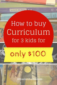 Is it possible to homeschool on a dime? I think it is, and here's how to buy a…