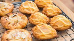 «Hele Norge baker»-Berits wienerbrød med eple og pære og mandelkrem