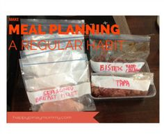 Meal Planning - a weekly 'must do' - Happy Pinay Mommy Weekly Menu Planning, Meal Planning, Easy Filipino Recipes, Quick Easy Meals, Frugal, Meal Prep, How To Plan, Cooking, Pinoy