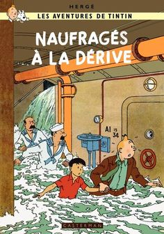 Tintin : Naufrages a la derive by *Bispro on deviantART