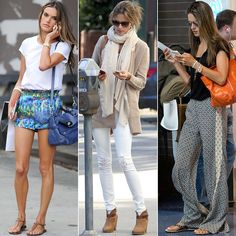 What Does an Angel Wear When Off Duty? LOVE all of these outfits...
