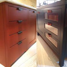 #Custom #decorative #hardware by Plain English cabinetry.