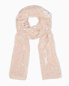 Velvet Belle Burnout Scarf | Accessories - RSVP Special Occasion Scarves | charming charlie #charmingcharlie