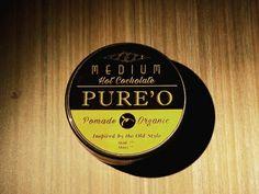 PURE'O ORGANIC POMADE (MEDIUM)  Aroma Kayu Manis dipadu dengan Hot Chocolate menghasilkan aroma unik yang membuat rambut jadi sehat dan stylish. . >>Grab it fast only 70k!<< . - Hold 2.5/5 Shine 2.5/5 - Netto 100 gram - Klimis dan Kaku seimbang - Free sisir saku  Order? SMS & WA : 082120040003 Bbm : 7EBCCCF9 Line : @pureopomade Fb : Pureo Pomade