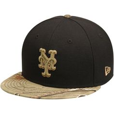 huge selection of 49a90 9f8ad New York Mets New Era Realtree 59FIFTY Fitted Hat - Black