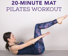 20-Minute At-Home Pilates Workout for All Levels ‹ Hello Healthy                                                                                                                                                                                 More