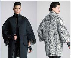 Выкройка интересного пальто