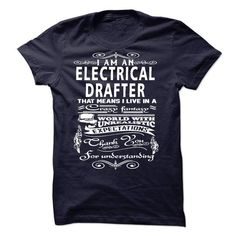 I am an Electrical Drafter - #coworker gift #hoodies/sweatshirts. CHECK PRICE => https://www.sunfrog.com/LifeStyle/I-am-an-Electrical-Drafter-18500098-Guys.html?id=60505
