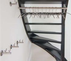 RVS kapstok voor onder trap