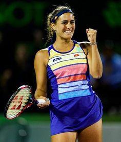 Monica Puig, Crandon Park, Tennis Center, Caroline Wozniacki, Beautiful Athletes, Tennis Players Female, Athletic Women, Puerto Rico, Miami