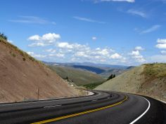 On the way to Jackson, Wyoming