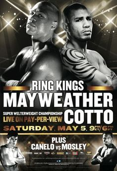 Live May 5 Floyd Mayweather vs. Miguel Cotto Super Welterweight World Championship Hbo Boxing, Boxing Fight, Boxing News, Floyd Mayweather, Puerto Rico, Martial, Miguel Cotto, Pretty Boy Floyd, Boxing
