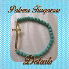 pulsera con turquesa details souvenirs Facebook