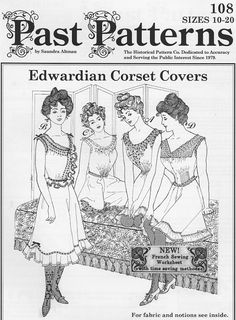 The corset covers worn by the ladies sitting on the ottoman are featured in…