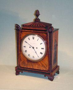 A Regency period 8-day striking and repeating Bracket Clock by John Peterkin, London - Patrick Sandberg Antiques
