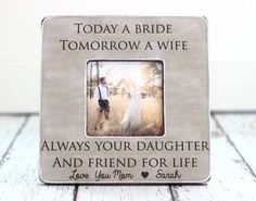 mother of the bride gift from daughter - Google Search