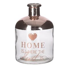 Explore our amazing collection of vases made by glass, wood , with amazing details. The right vase will give your home or office a special touch. Wooden Vase, Copper Color, Home Living, Little Things, Flask, Vodka Bottle, Decorative Bowls, Barware, Glass Vase