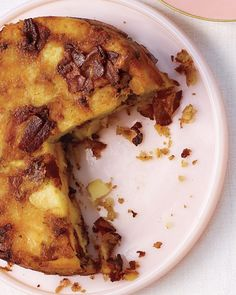 Martha Stewart. Potato and Bacon Cake.