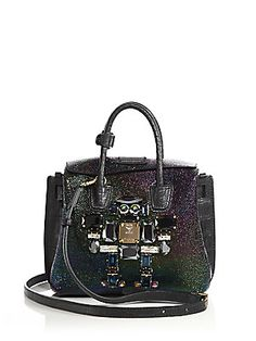 MCM Milla Mini Special Leather Roboter Tote