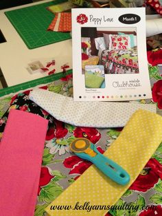 Looking for the perfect cutter for your fabric needs? See what Kelly Ann at Kelly Ann's Quilting uses!